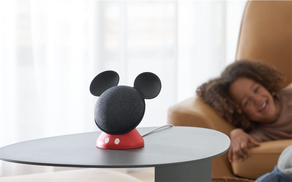 Le Google Home Mini se déguise en Mickey