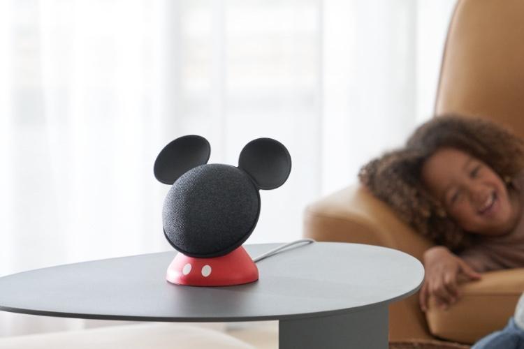 image en galerie : Le Google Home Mini se déguise en Mickey