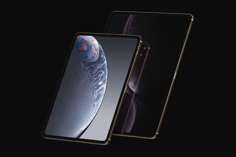 image en galerie : L'iPad Pro 2018 bien rendu dans cette vision de designer