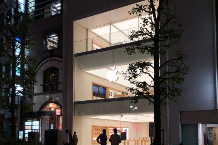 image en galerie : Le spectaculaire Apple Store de Shibuya prend de la hauteur