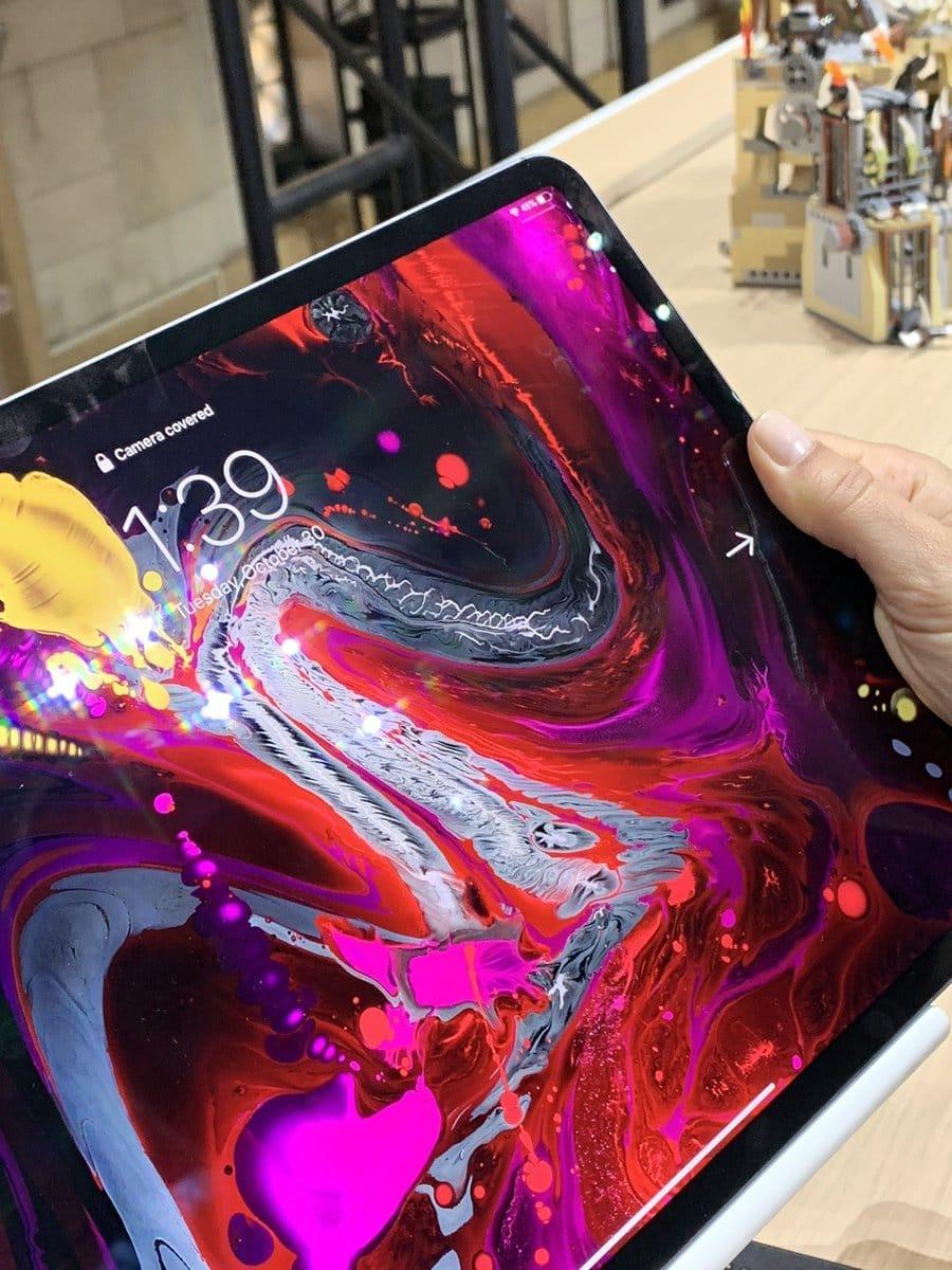 iPad Pro : que se passe-t-il quand un doigt cache FaceID?