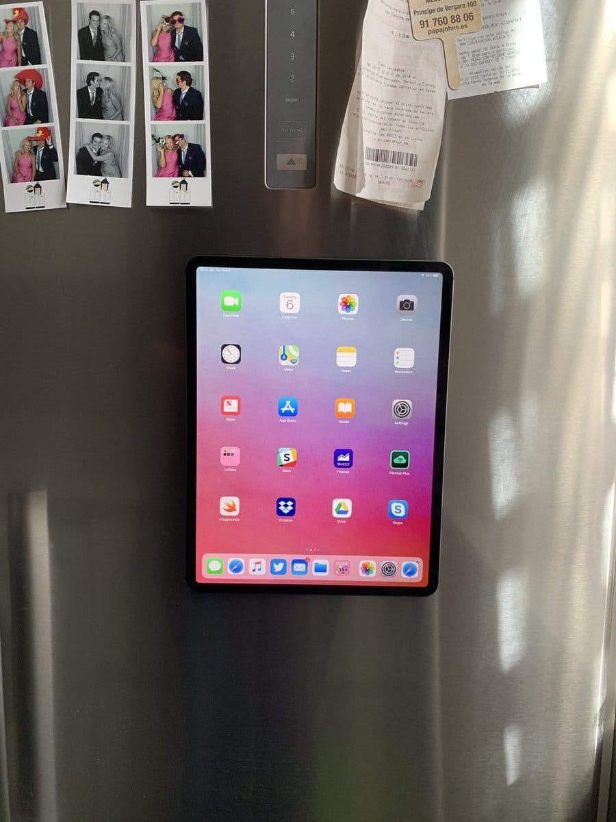 L'iPad Pro est aussi une tablette de frigo