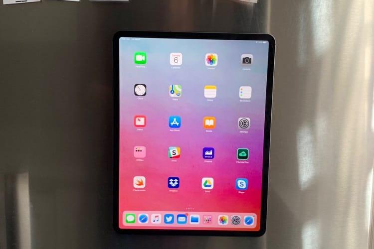 image en galerie : L'iPad Pro est aussi une tablette de frigo
