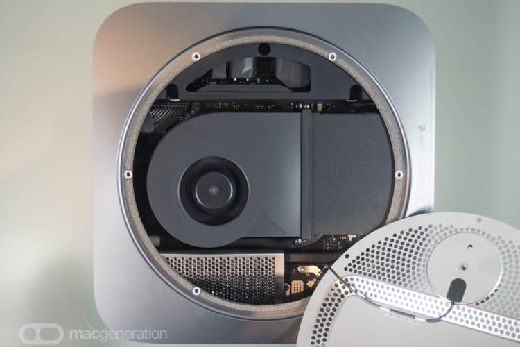 image en galerie : À l'intérieur du Mac mini