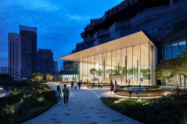 image en galerie : La Thaïlande a son tout premier (grand) AppleStore