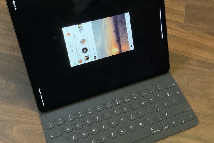 On est fin 2018 et l'iPad affiche toujours Instagram au format timbre-poste 😡