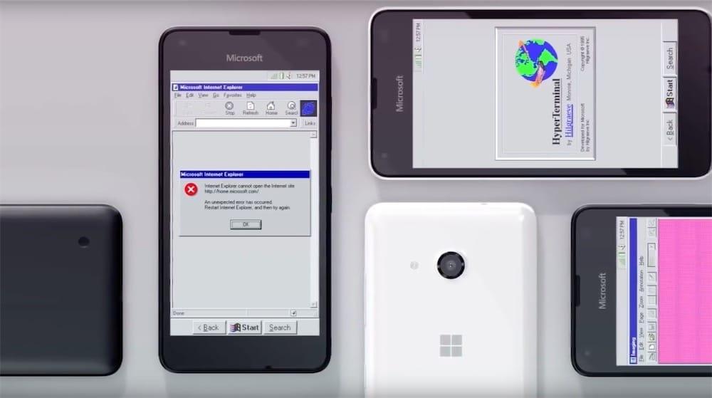 Et si Windows 95 avait existé au temps des smartphones ?