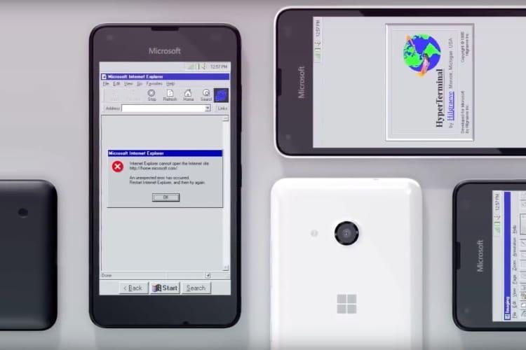 video en galerie : Et si Windows 95 avait existé au temps des smartphones ?