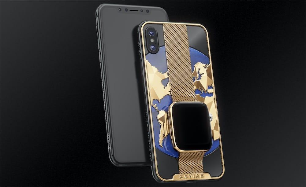 Combo de luxe ou cauchemar de Frankenstein: voici un iPhone XS Max avec une Apple Watch dans le dos