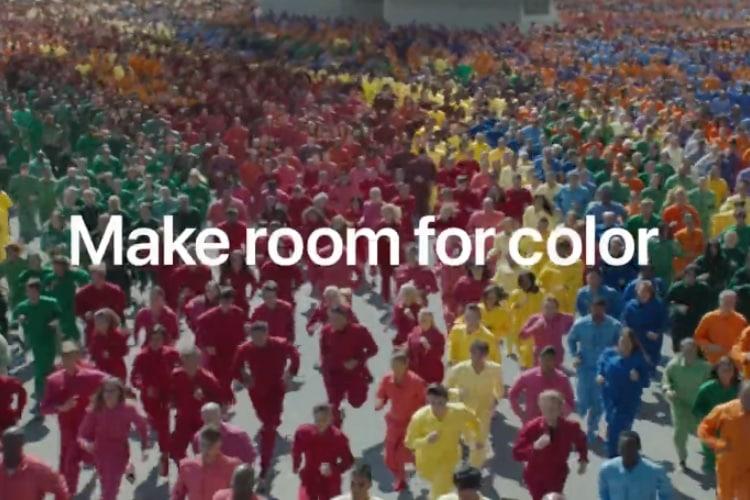 video en galerie : iPhone XR : une nouvelle pub pleine de couleurs