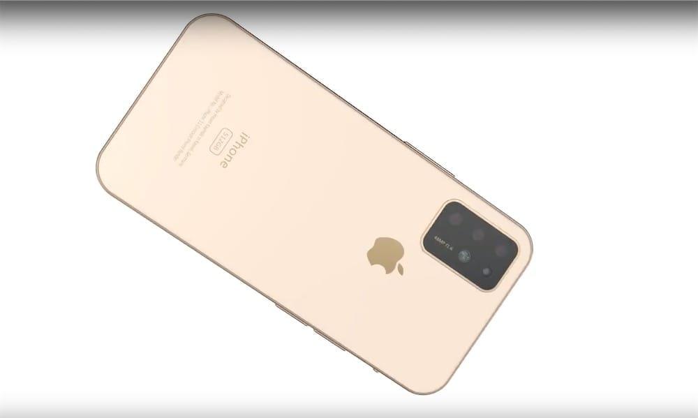 Un concept d'iPhone XI qui s'inspire de l'iPad Pro