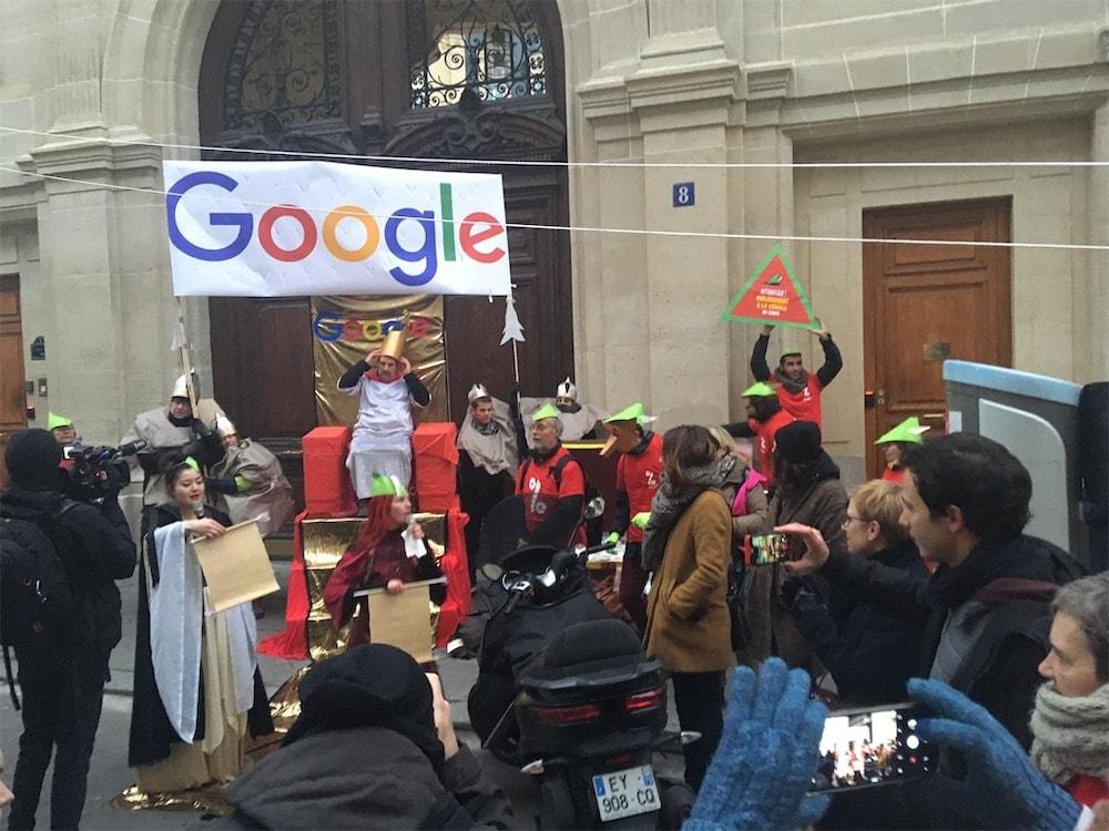 Attac joue les Robin des bois avec Google France