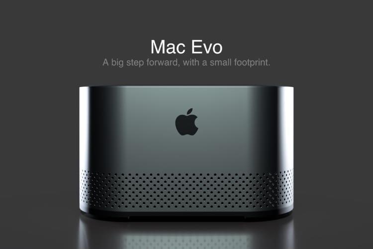 image en galerie : Mac Evo : un concept de Mac Pro qui vaut le coup d'œil