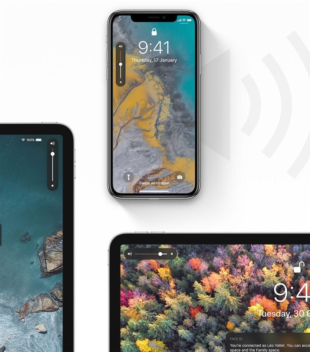 Ce concept d'iOS 13 imagine une nouvelle interface pour le volume sonore et c'est magnifique